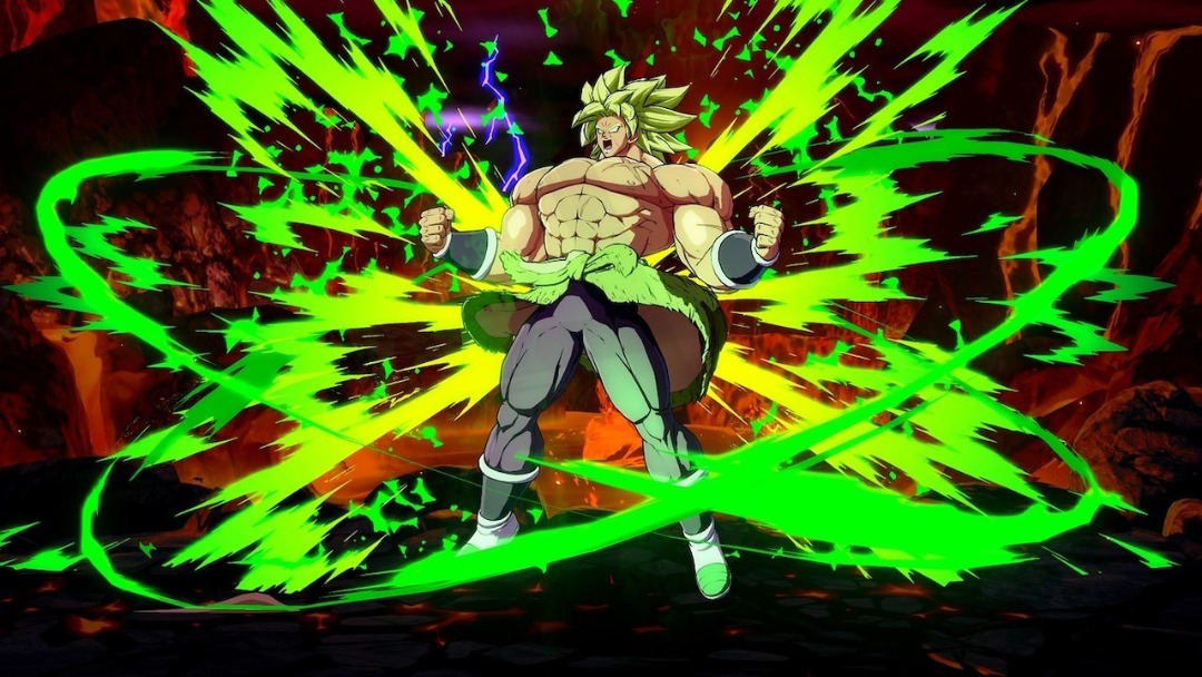 Dragon ball FightersZ Broly