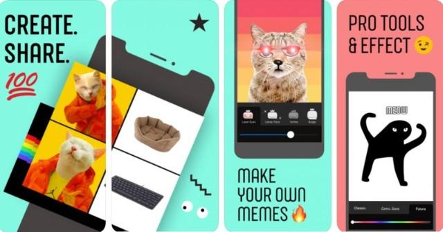 Facebook lanzó una aplicación para crear memes: ¿cómo funciona?
