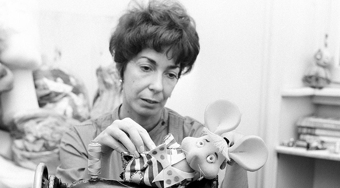 Fallece María Perego, creadora del famoso títere — Topo Gigio