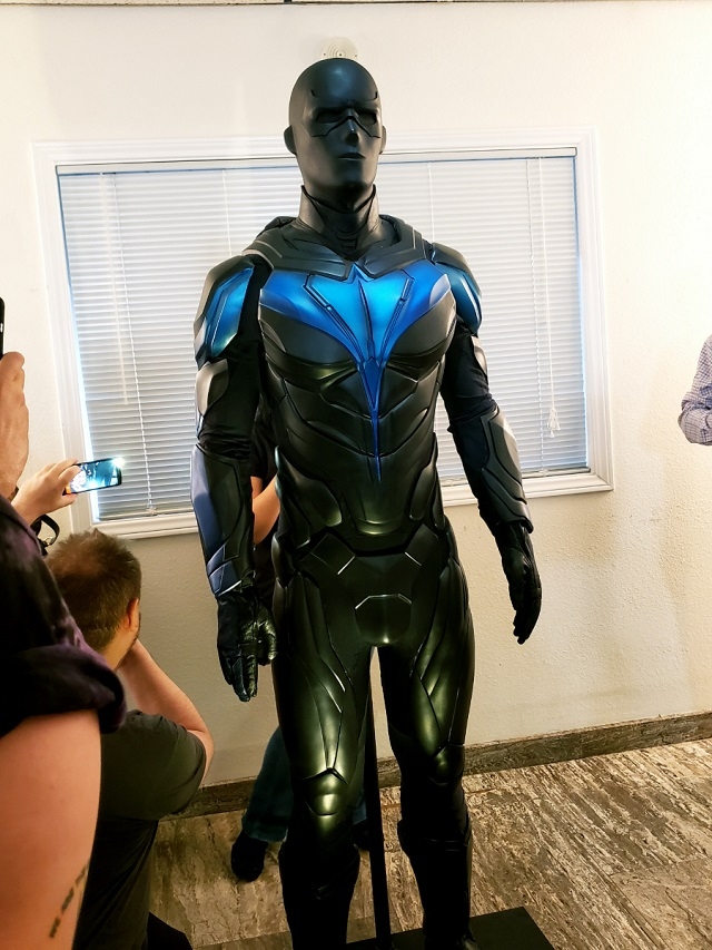 Traje Nightwing Serie Titans