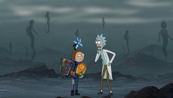 Rick y Morty Death Stranding