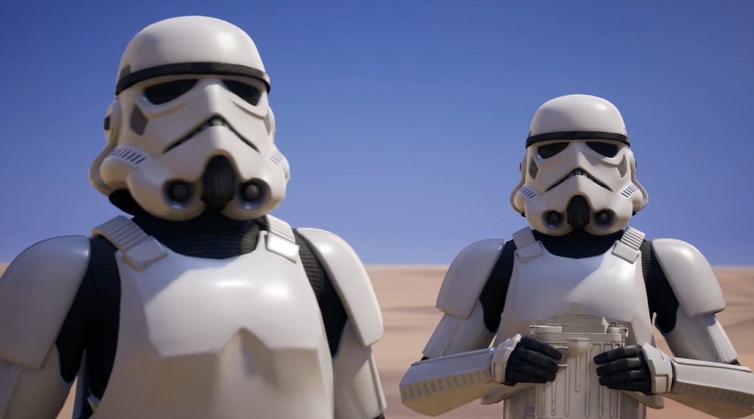 Stormtrooper Fornite Star Wars