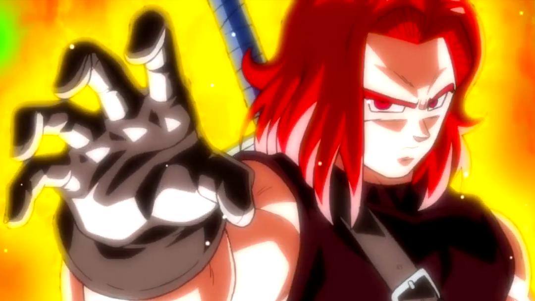 Trunks del futuro en Dragon Ball Heroes