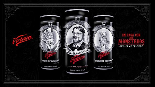 Guillermo del Toro reclama uso de sus monstruos en latas de cerveza