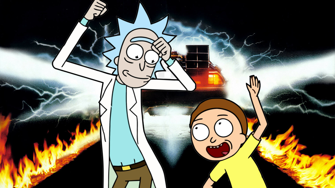Back to the Future Rick and Morty
