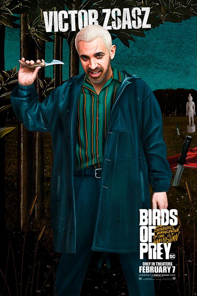 Birds of Prey. nuevos pósters