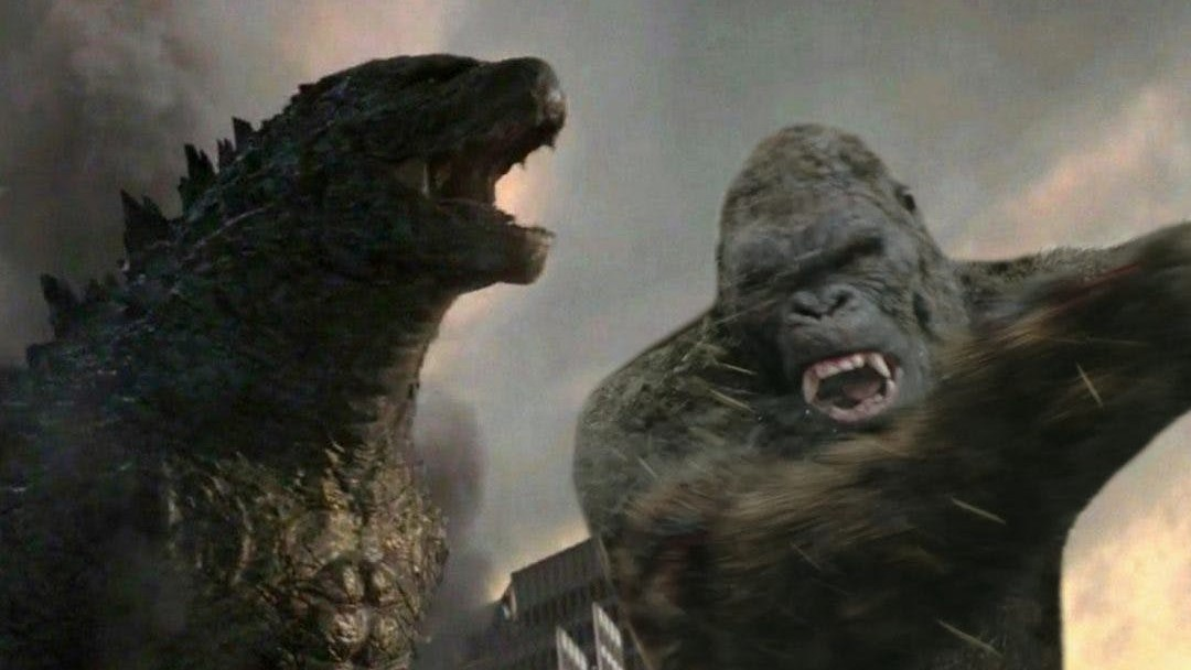Pelea Godzilla vs King Kong