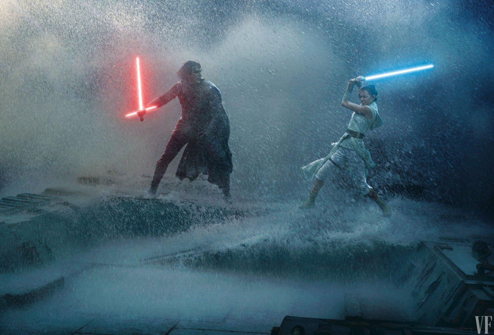 Rey vs. Kylo