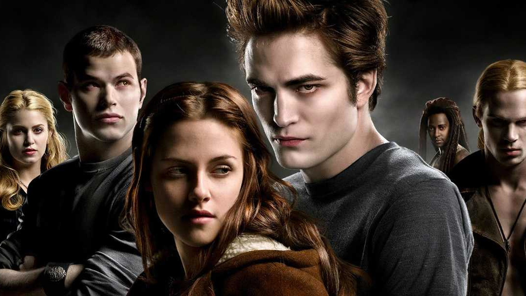 poster promocional de la película Twilight