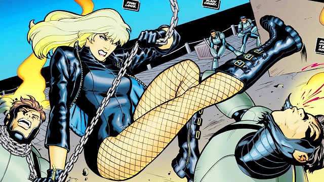 Black Canary Birds of Prey