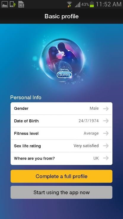 Durex Apps Amor 14 de Febrero