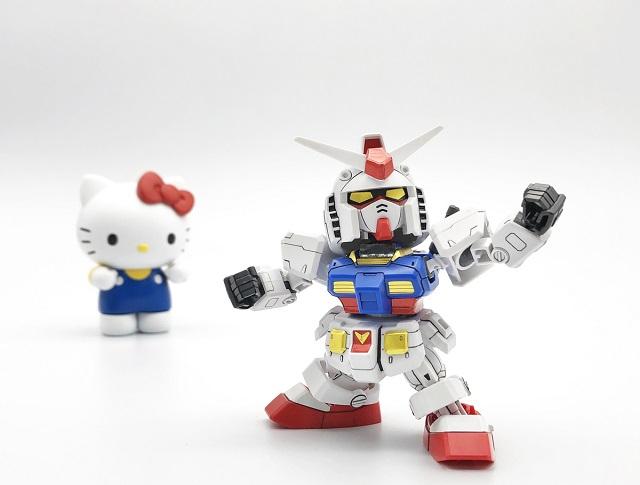Coleccionable Hello Kitty Gundam