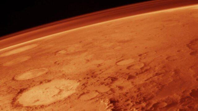 Lagos subterráneos en Marte