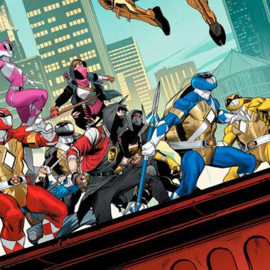 Mighty Morphin Power Rangers Teenage Mutant Ninja Turtle