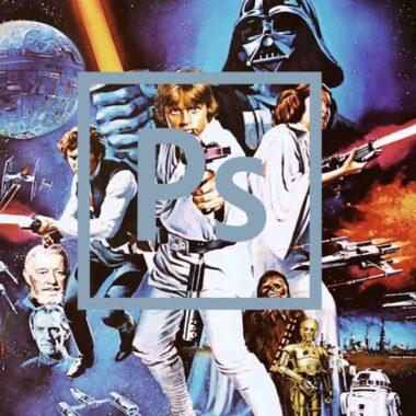 Star Wars Historia Photoshop