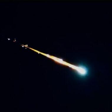 meteorito martes 18 de febrero México