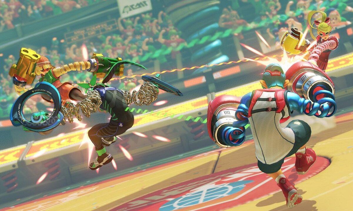 Arms Super Smash Bros Ultimate (1)