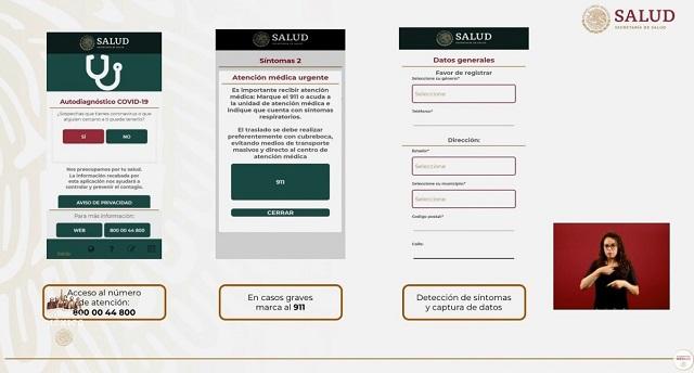 App Diagnóstico Covid-19