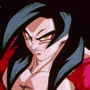 Goku Fase 4 Dragon Ball GT
