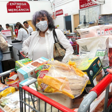 Supermercado despensa coronavirus