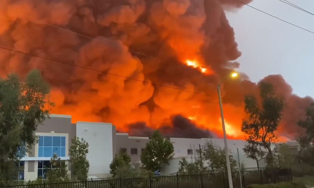 Amazon Incendio California