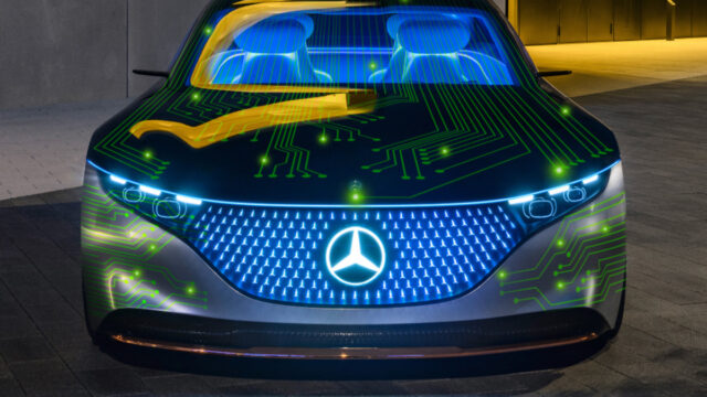 Mercedes Benz NVIDIA Autoconduccion