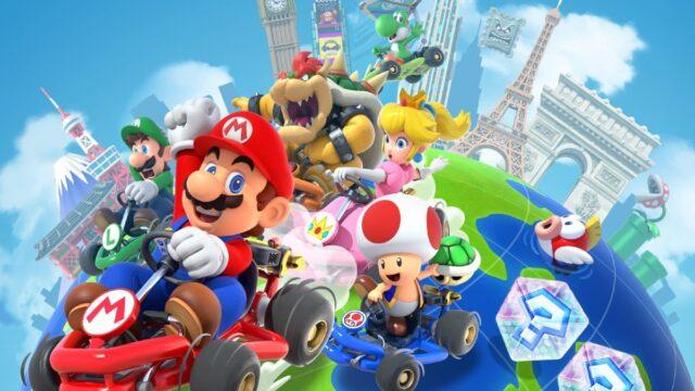 Nintendo Deja Juegos Smartphone Mario Kart Tour
