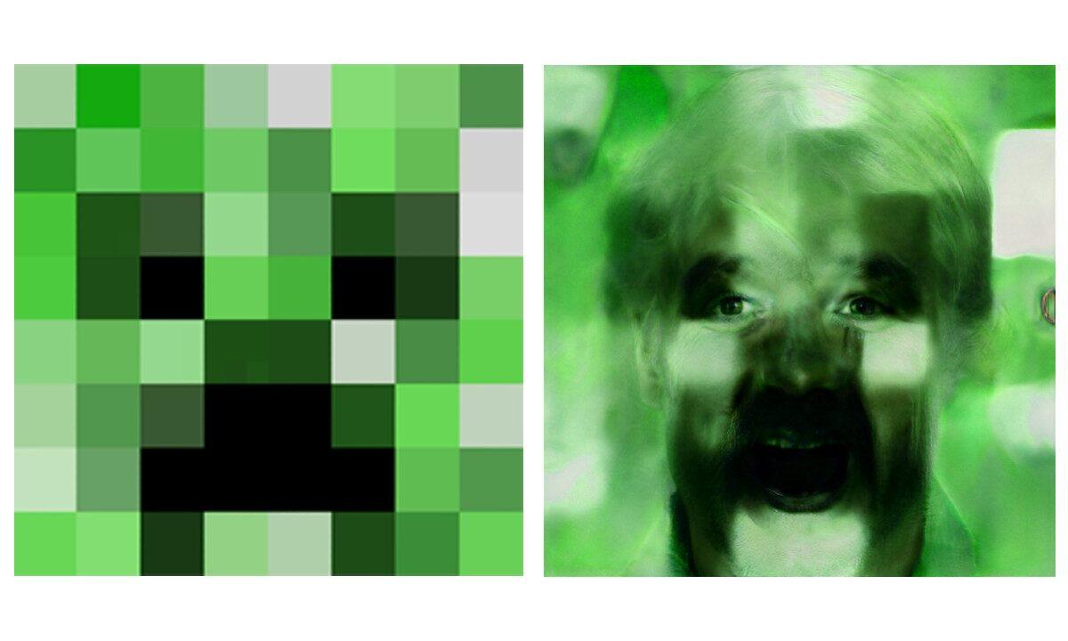 Personajes Videojuegos Algoritmo Fotos Pixeladas