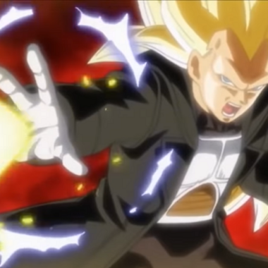 Vegeta Super Saiyajin Fase 3 Dragon Ball Heroes