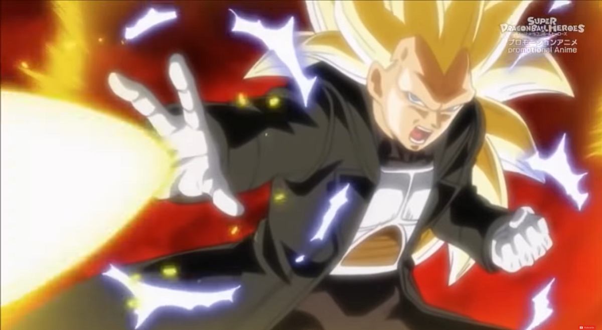 Vegeta Super Saiyajin Fase 3 Dragon Ball Heroes