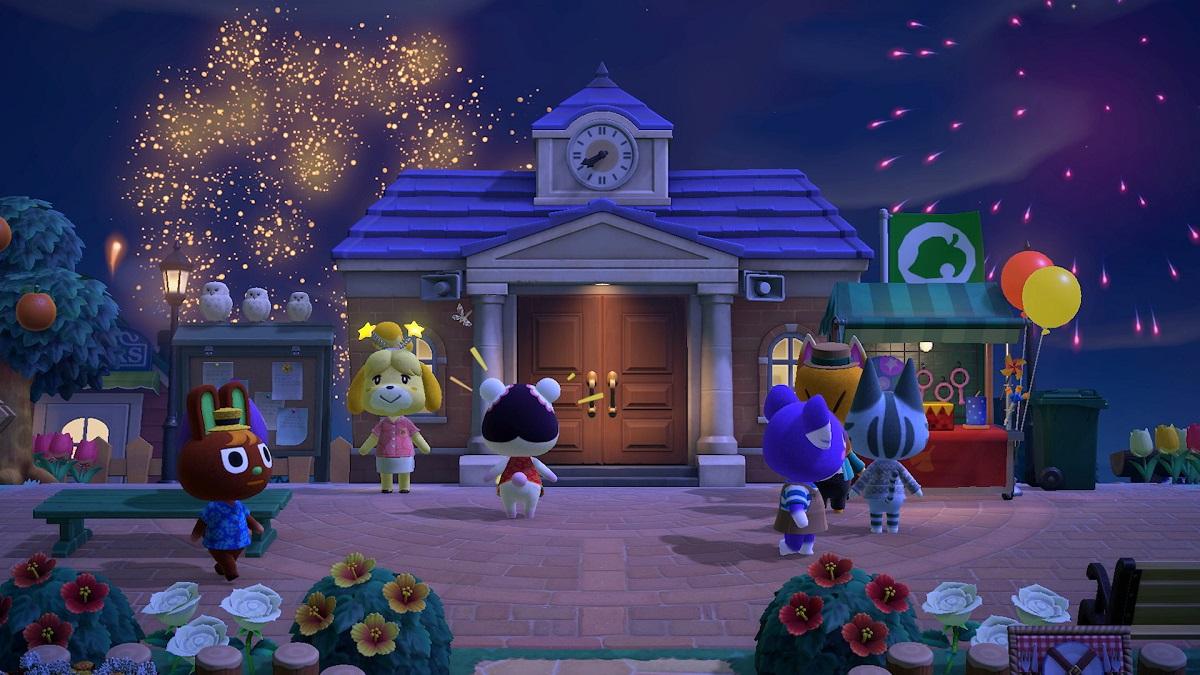 Actualización Animal Crossing New Horizons