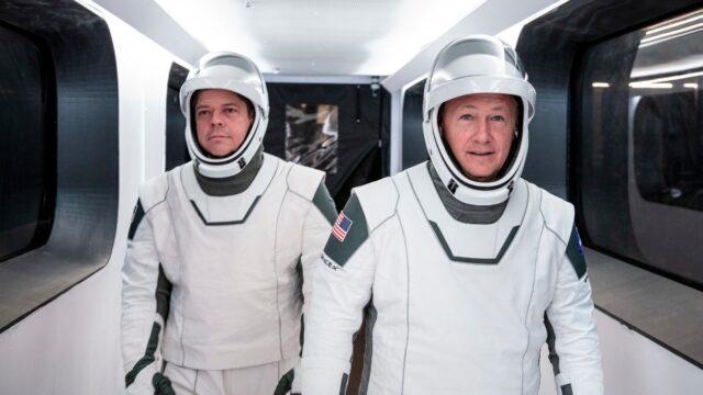 Astronautas NASA SpaceX Tierra