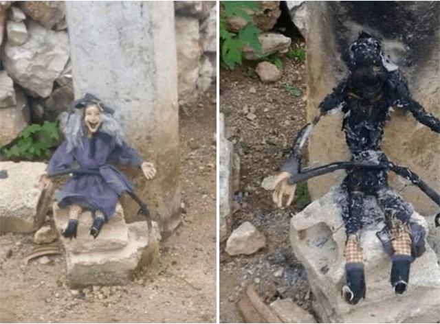 Bruja Yucatan quemada