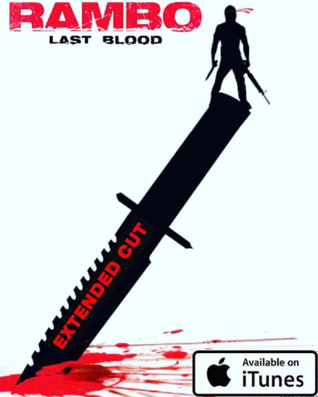 Corte Extendido Rambo Last Blood