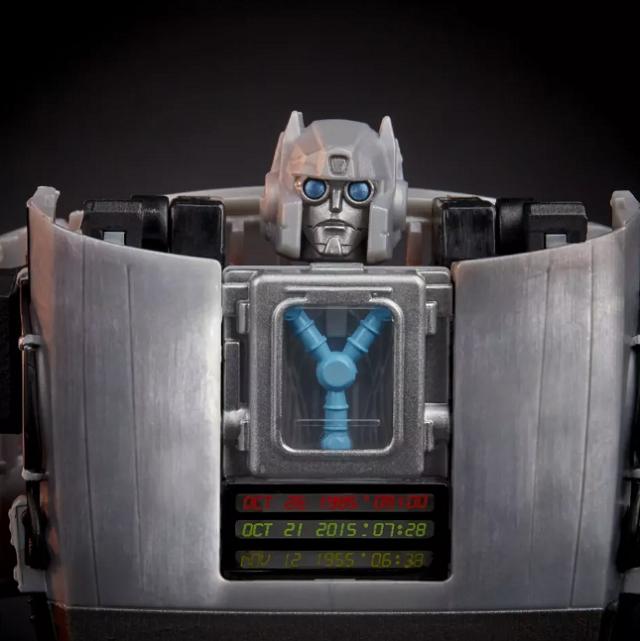 DeLorean Back to the Future Transformers