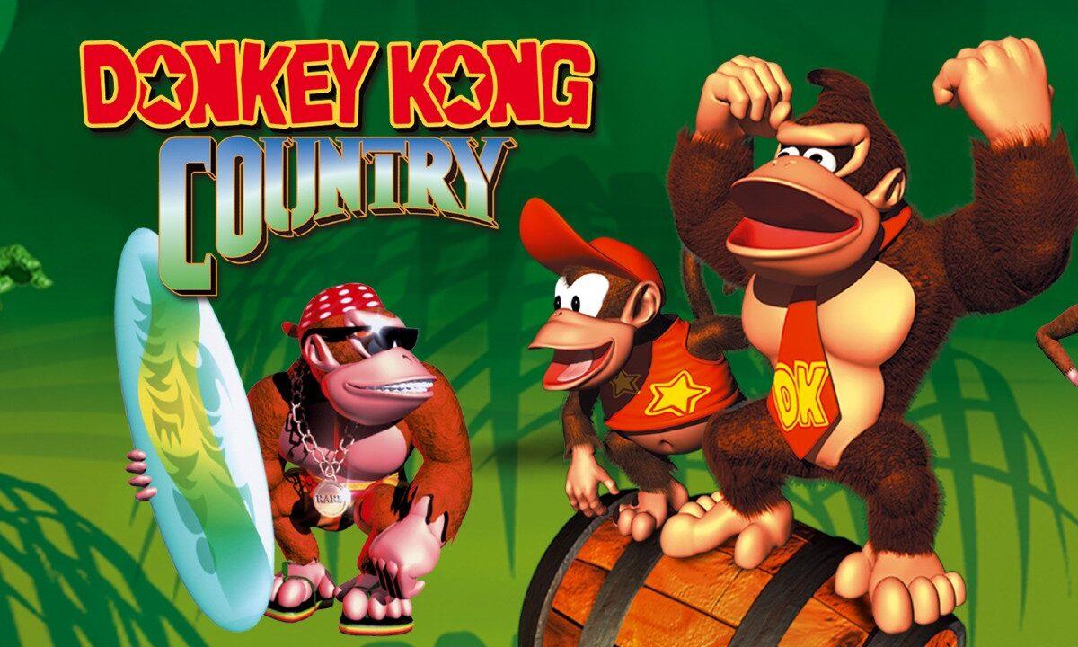 Donkey Kong Country Switch Nintendo