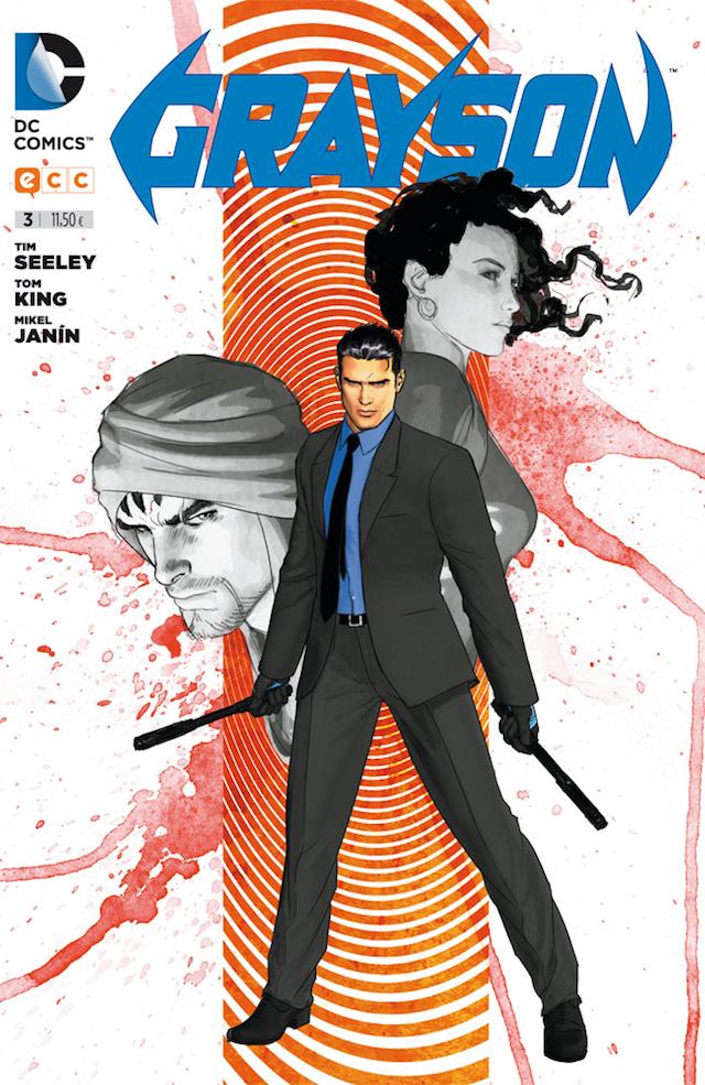 Grayson Comic, Guionista Tom King, Portada, Imagen