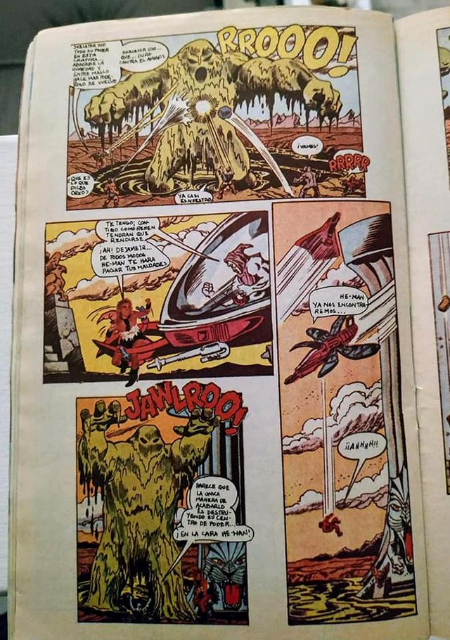 Comic de He-Man y Yuri en Tele Guía, 1987