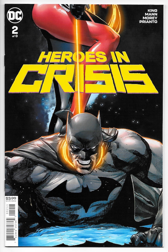 Heroes In Crisis, Tom King, Portada, Imagen