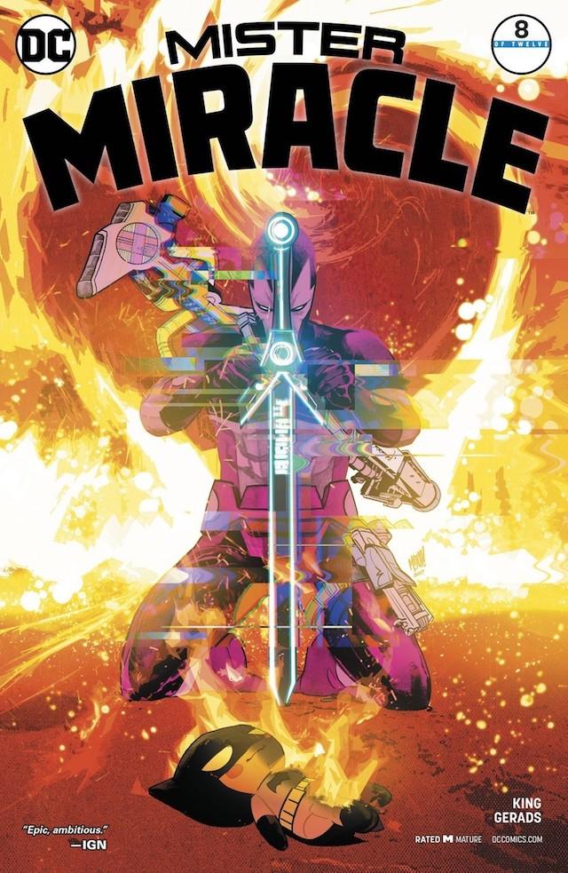 Mister Miracle, Tom King, Portada, Imagen