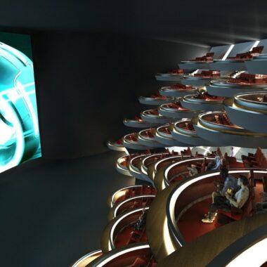 Tendremos salas de cine tipo Star Wars en la vida real