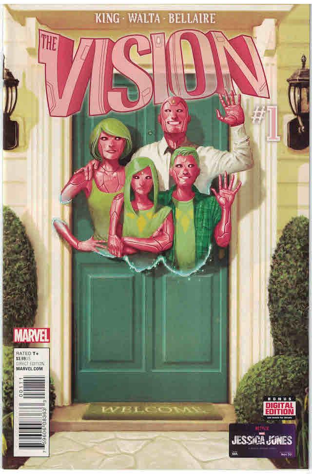 Vision, Comic, Tom King, Portada, Imagen
