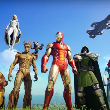 Fornite 2 Temporada 4 Marvel