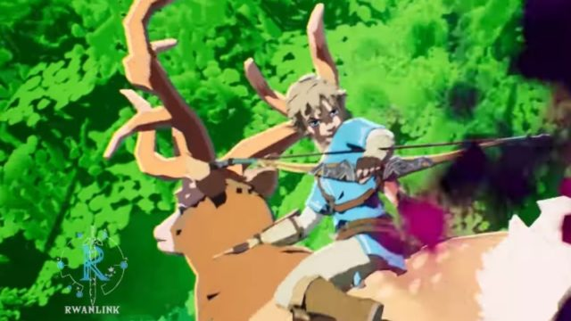 The Legend of Zelda Breath of the Wild Princesa Mononoke Crossover