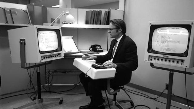 William English, co inventor del mouse, muere a los 91 años