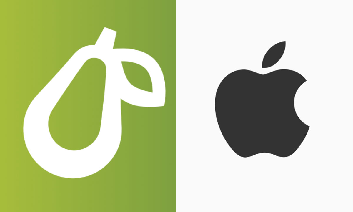 Apple demanda a Prepear, app de comida, por logo similar