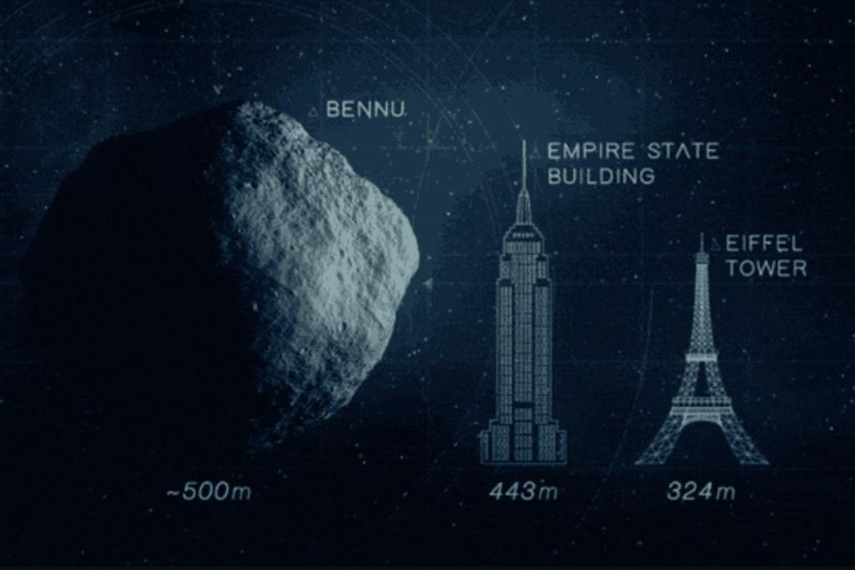 La NASA intentará aterrizar en el asteroide Bennu este 2020