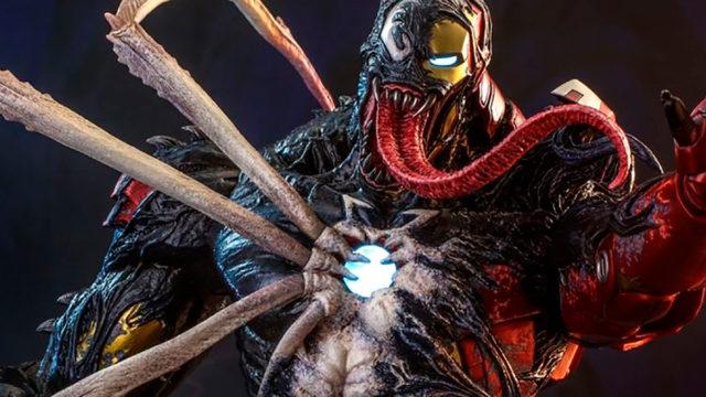 Marvel Spider-Man Maximum Venom Iron Man
