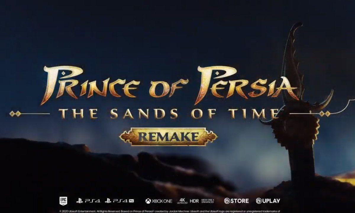 Ubisoft confirma remake de Prince of Persia Sands of Time