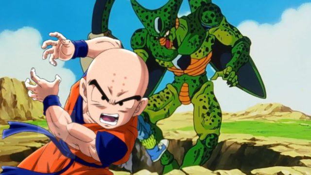 Dragon Ball Cell Krillin